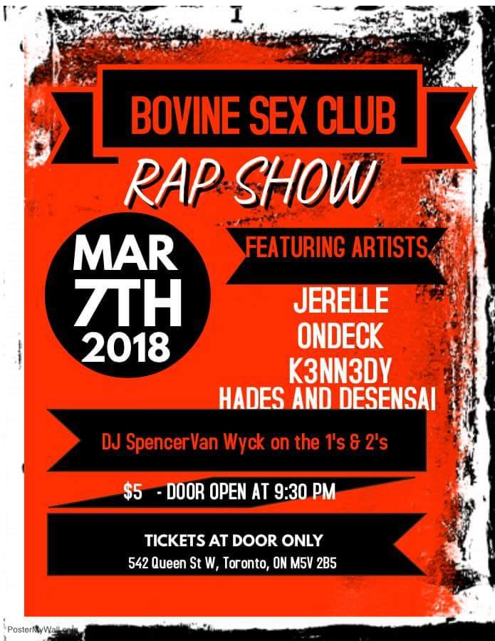 Bovine Rap Show