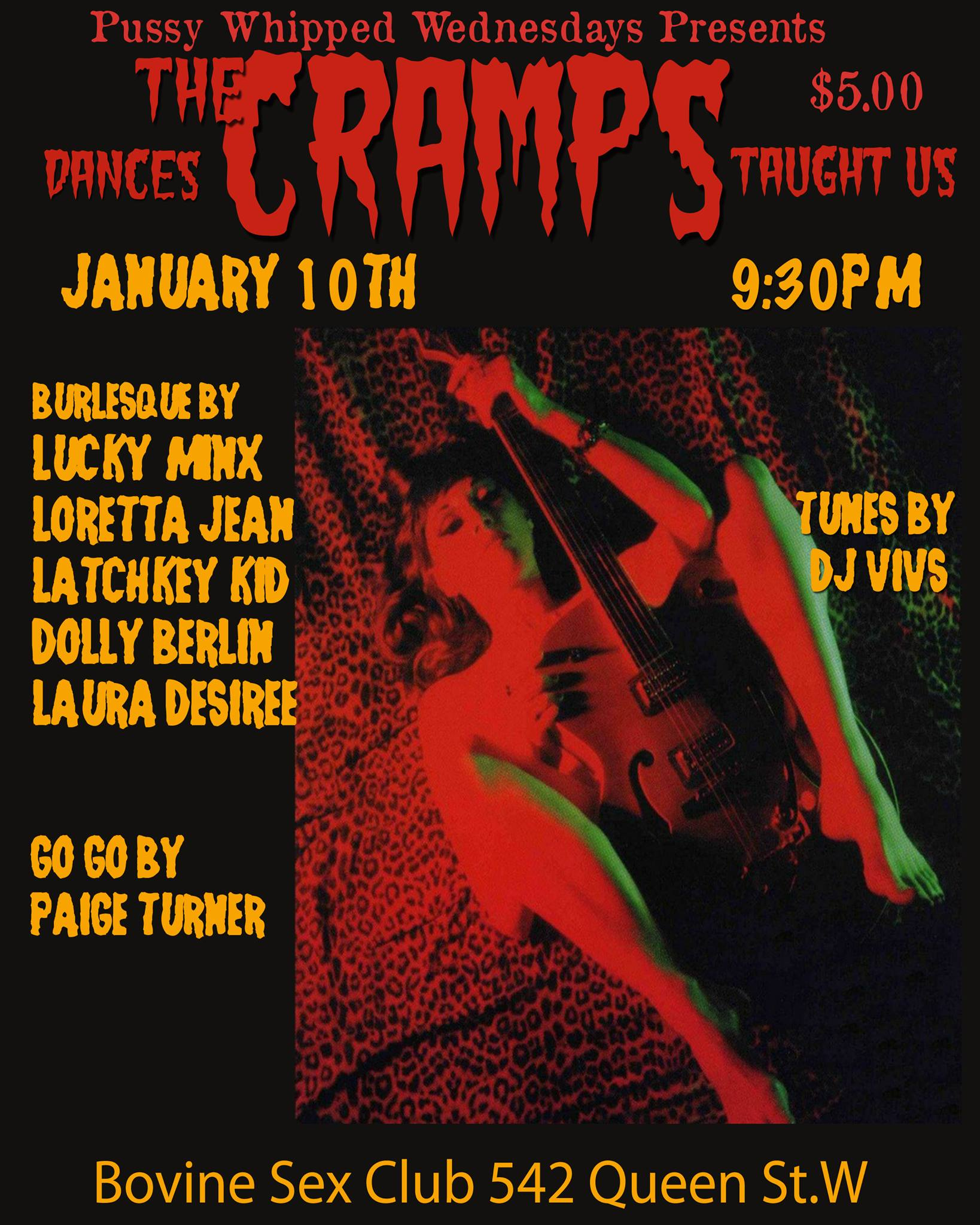 Pussy Whipped Wednesdays : Dances The Cramps Taught us