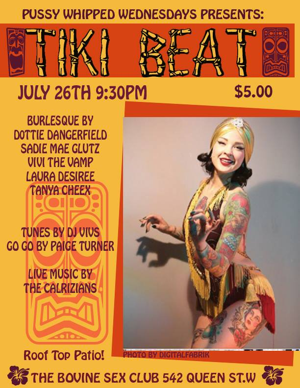 Pussy Whipped Wednesday: Tiki beat