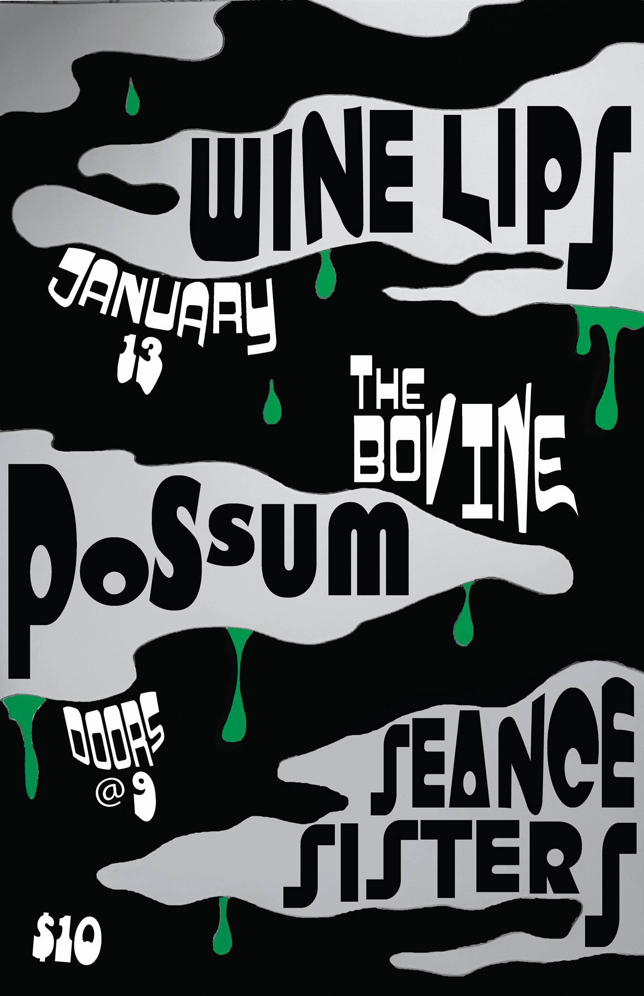 Cam's Birthday Extravaganza w/ Wine Lips Possum & Seance Sis
