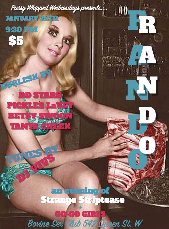 Rando Wednesdays- The Anything Goes Strip Show!