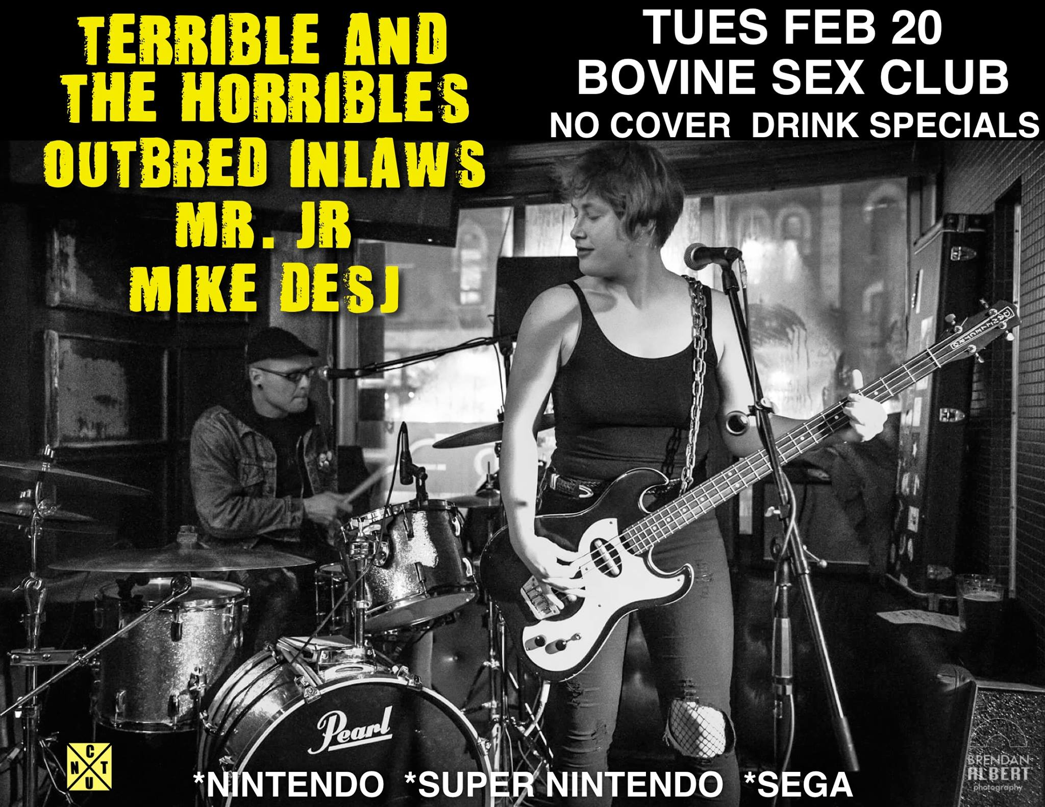 Terrible & the Horribles, Outbred Inlaws, Mr. Jr. Mike Desj