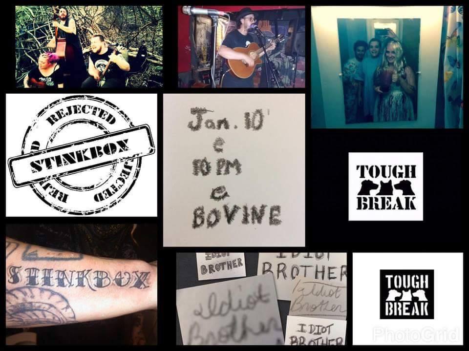 Stinkbox +Tough Break & Idiot Brother