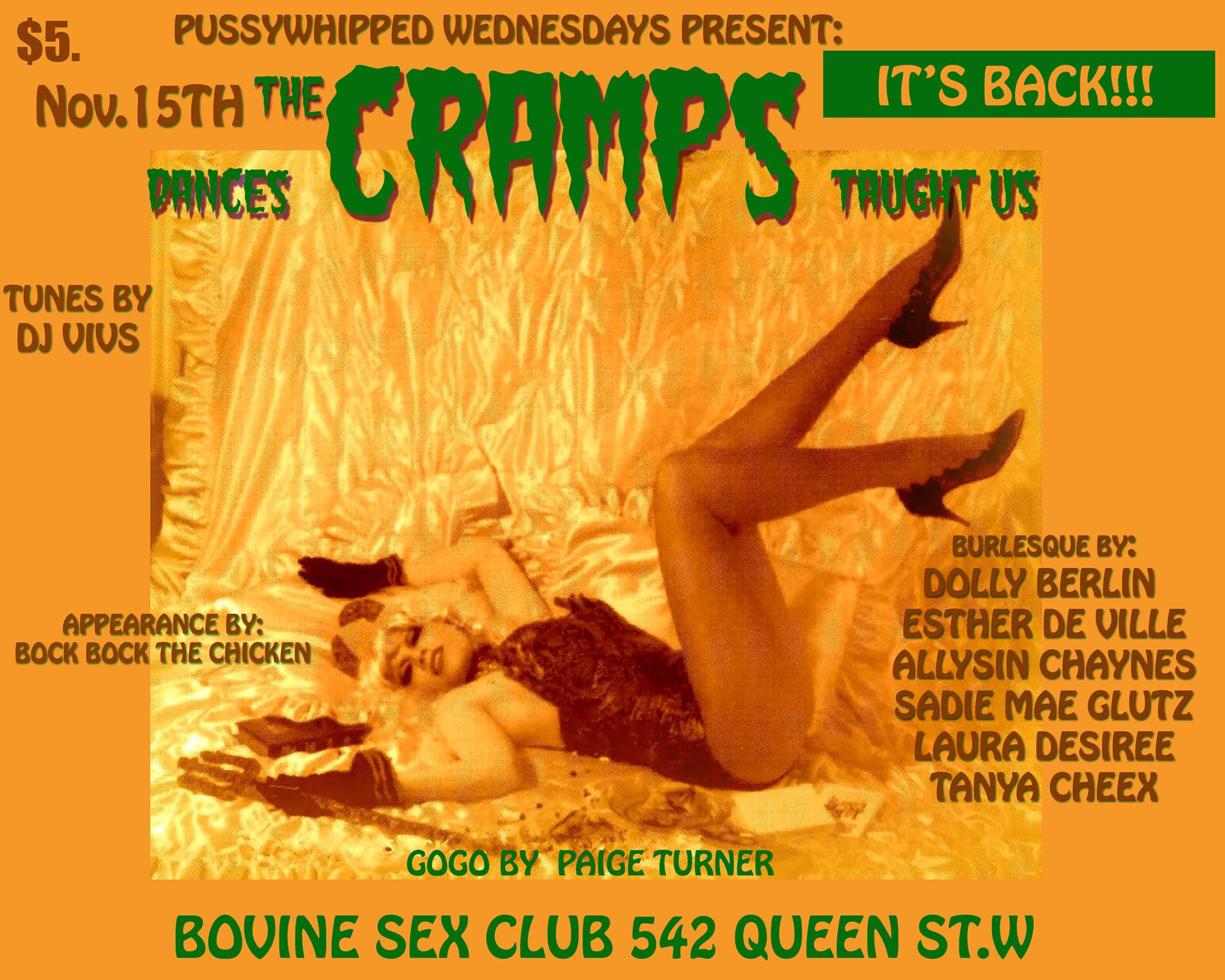 PWW:The Dances the Cramps showed us