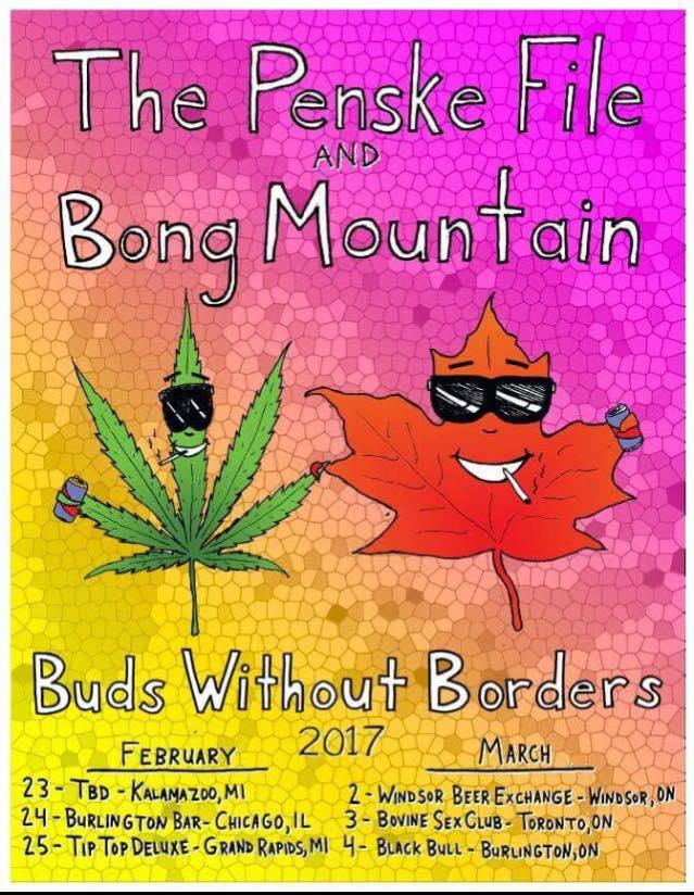 the Penske File & Bong Mountain