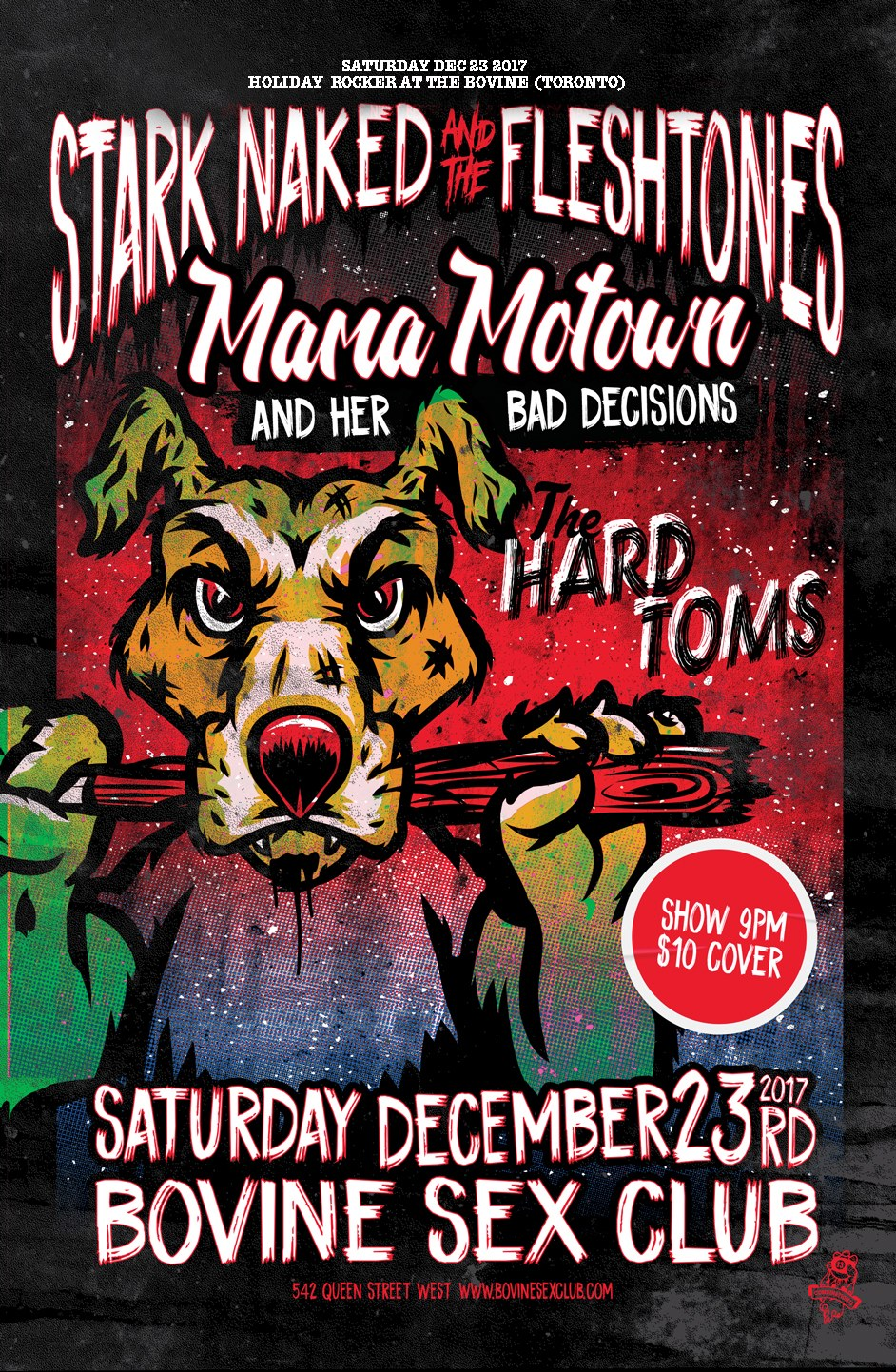 Stark Naked & The Fleshtones, Mama Motown, The Hard Toms