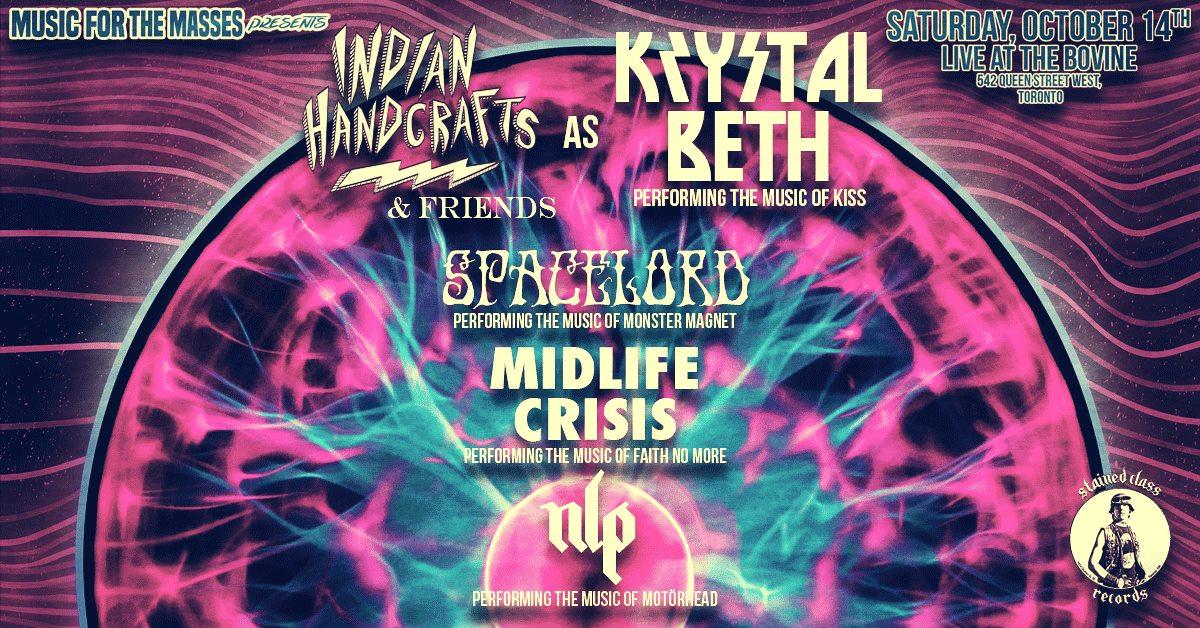 Krystal Beth /Spacelord/ Midlife Crisis / NLP Sat Oct 14