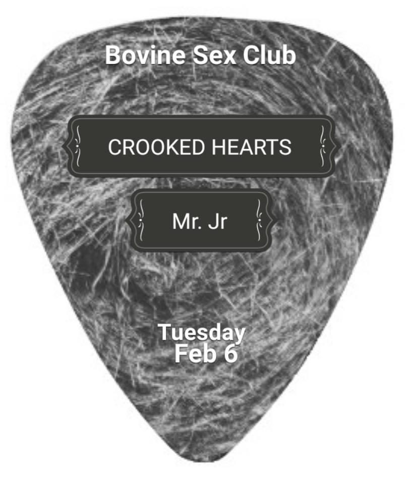 Crooked Heart & Mr JR
