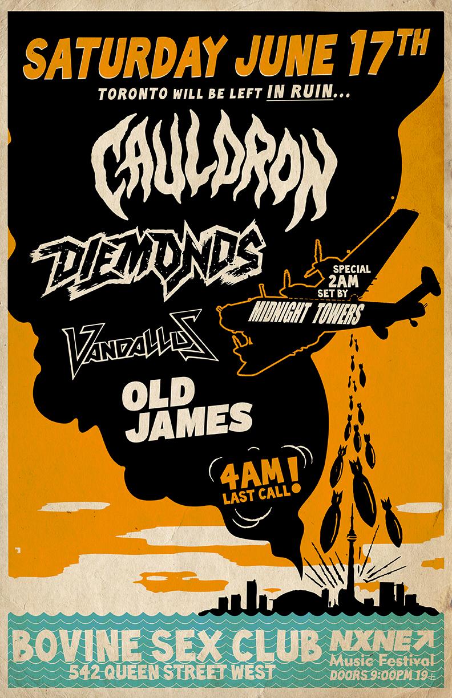 Diemonds & Cauldron