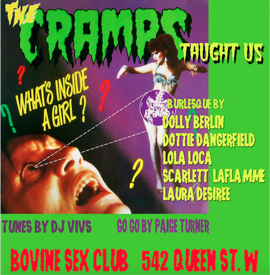 Pussy Whipped wesdnesdays present: The Dances the Cramps ..