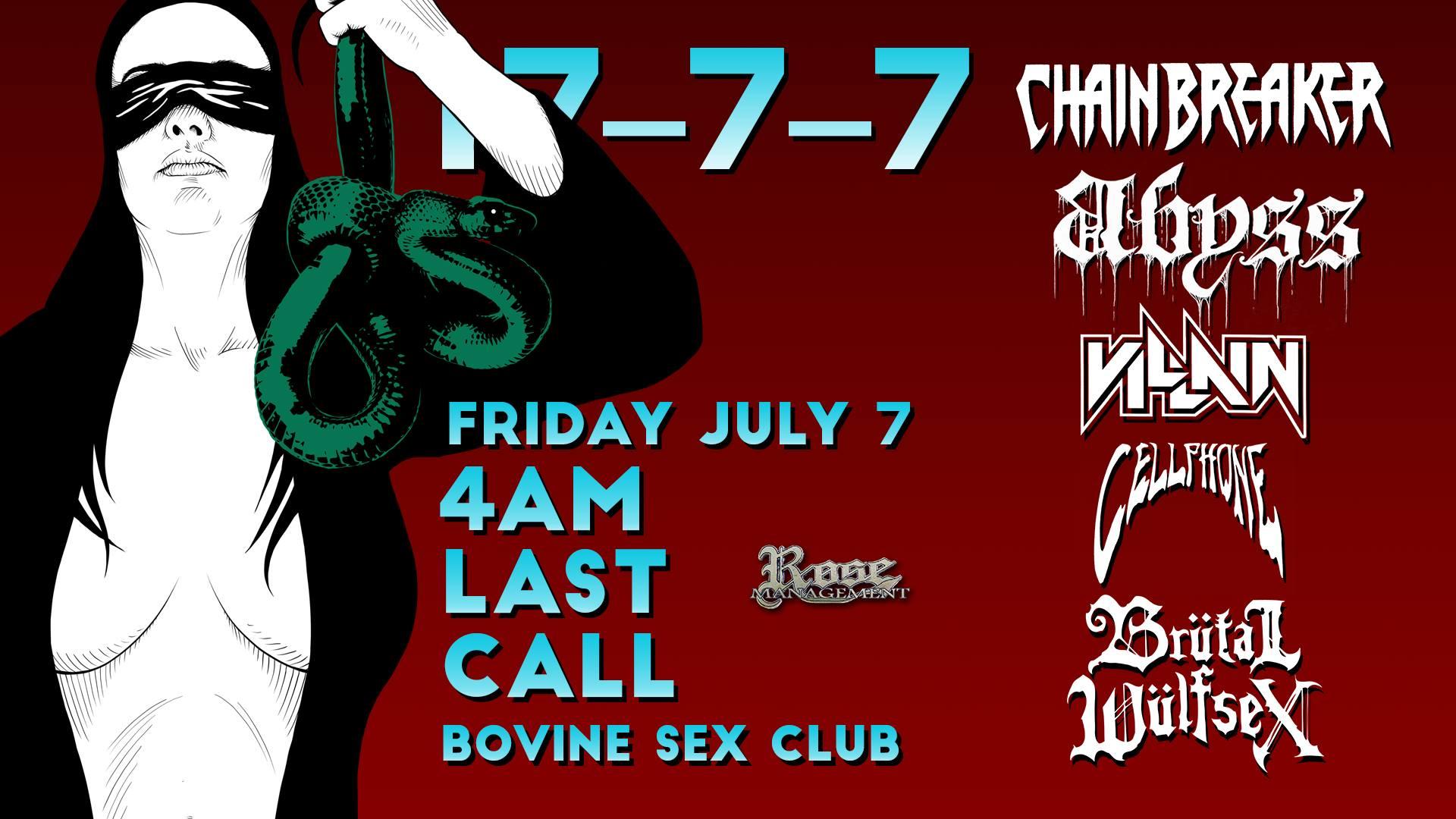 Chainbreaker  *4 am last call*