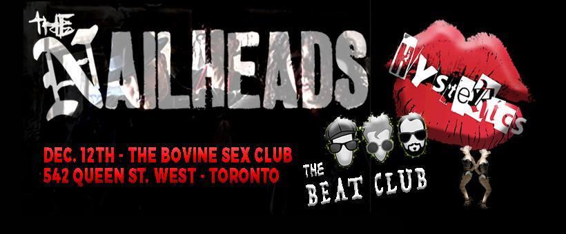The Nailheads/Hysterics/The Beat Club